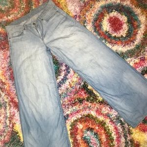 BLANK nyc WIDE-LEG jeans